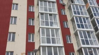 Однокомнатная квартира (без отделки) в Евпатории.