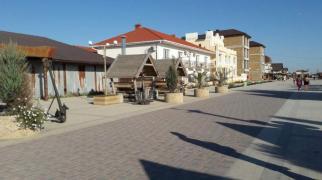Квартира-студия  для отдыха на берегу моря в районе самого большого аквапарка Крыма